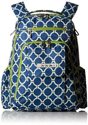 Ju-Ju-Be Be Right Back Backpack Diaper Bag, Royal Envy