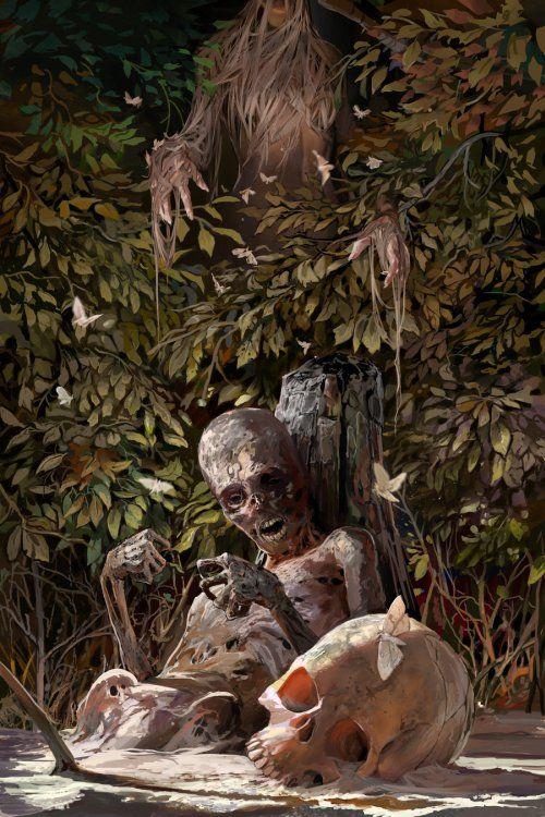 Ficção científica, fantasia e terror nas ilustrações de Michael MacRae
