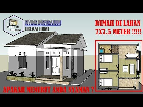 20+ trend terbaru desain rumah minimalis sederhana ukuran