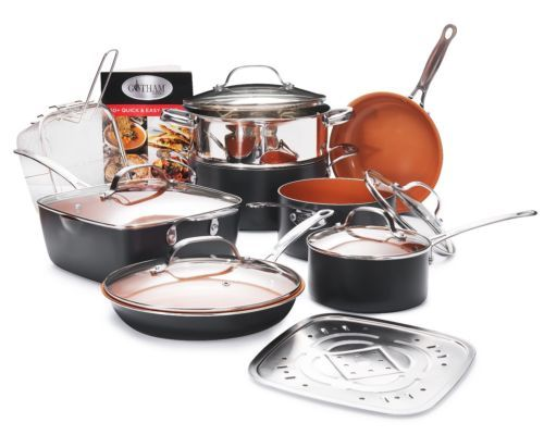 Details About Gotham Steel Complete Kitchen In A Box Nonstick 20
