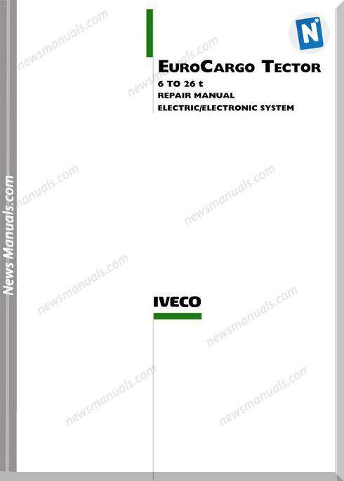 iveco euro cargo tector 626t electronic wiring diagram