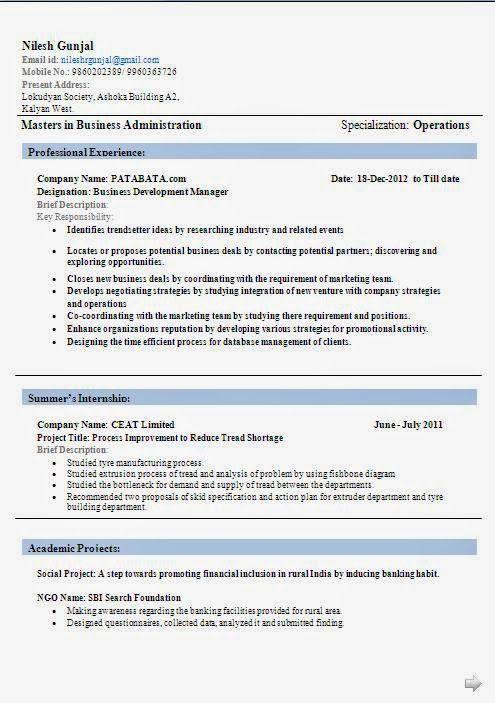 curriculum vitae pdf vuoto Sample Template Example ofExcellent - sap sd consultant sample resume