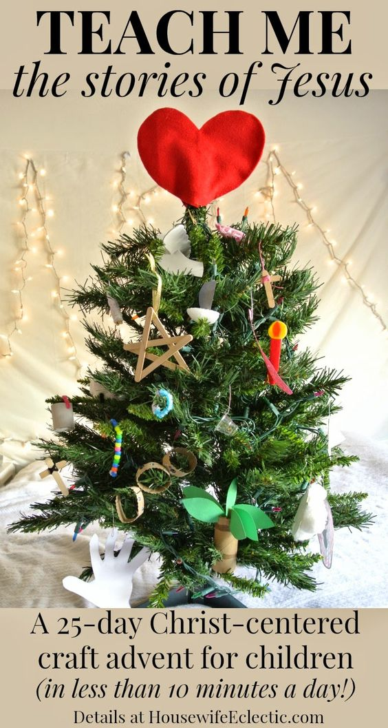 Christ-Centered Christmas Craft Advent Activity for Children | housewife eclectic