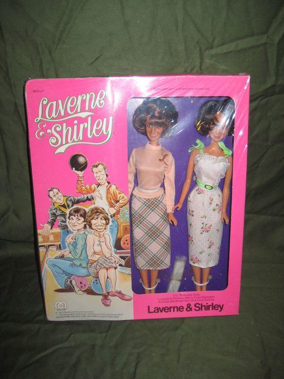 1977 Mego Laverne & Shirley MIB.
