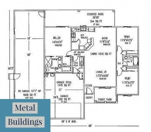Steel Building Styles Metal Carports And Barns And Garages And Rv Covers And Pole Barn House Garage Floor Plans Barndominium Floor Plans Garage House Plans