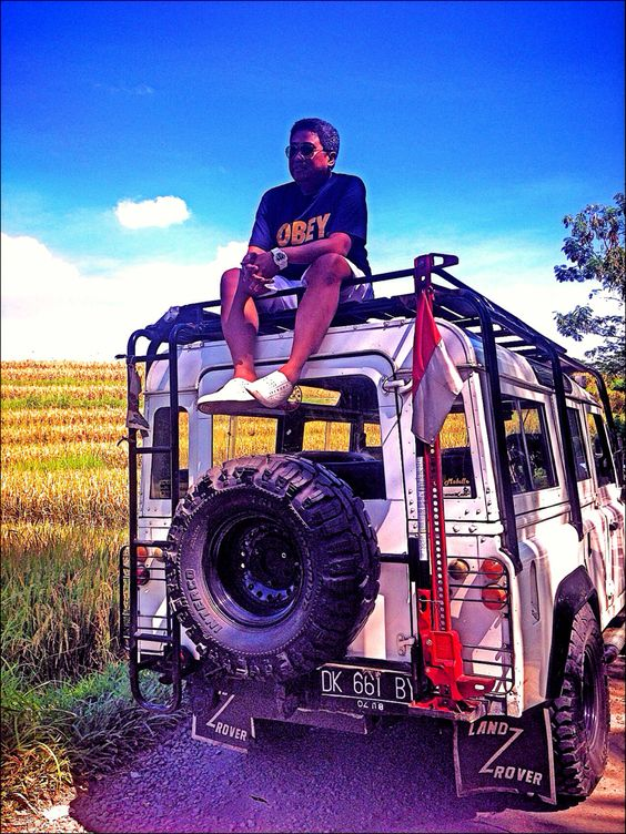 My landrover trip in bali