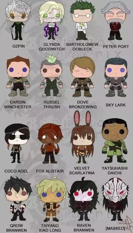 If they made RWBY pop figures I would be broke all the time.