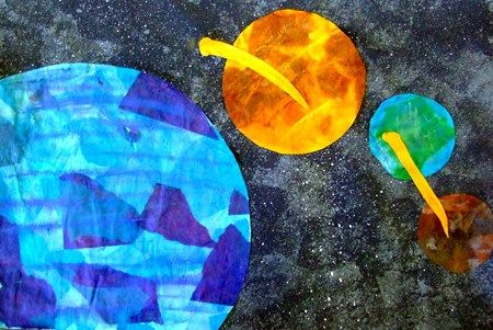 solar system art project | Astronaut/Space Theme ...