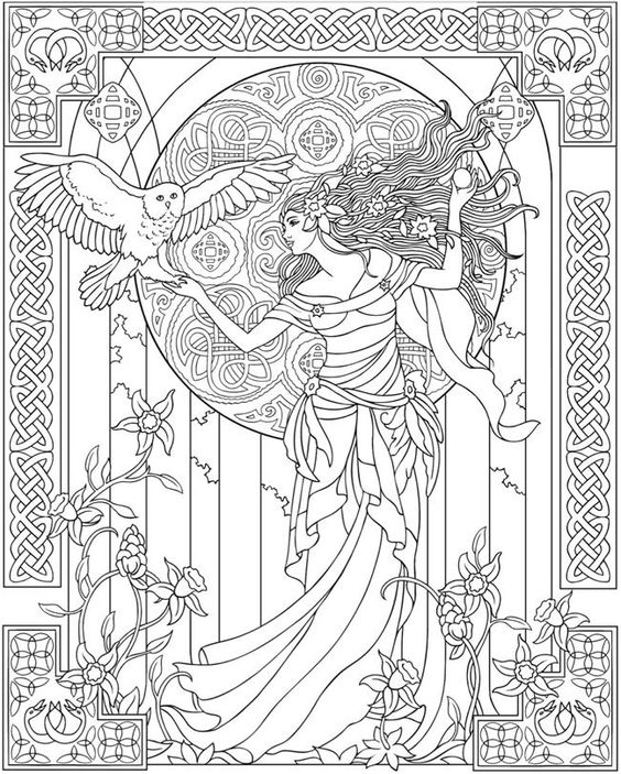 Free Coloring Pages For Adults Celtic Coloring Coloring Books Coloring Pages