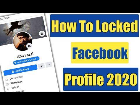 How To Lock Facebook Profile Fb Profile Locked Feature Facebook Profile Fb Profile Increase Facebook Likes