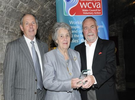 Joan Davies of Newport has volunteered around the Maesglas community for 29 years, making her a well-deserved winner of a Wales Volunteer of the Year Award 2013.
