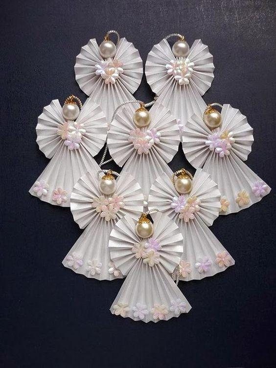 anjos para decoração de natal