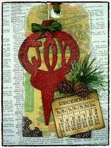 altered tag art
