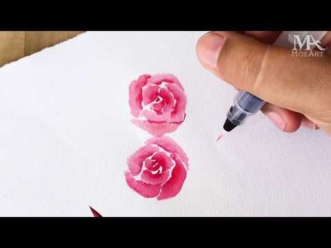Take Your Art To The Next Level With Watercolor Brush Pens In 2020