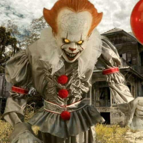 Details About Pennywise The Clown Life Size 6 Animated Halloween Prop From 2019 It Movie Animated Halloween Props Pennywise Decorations Halloween Party Decor