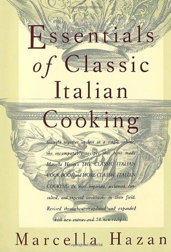Almost twenty years ago, with the publication of The Classic Italian Cook Book, followed by More Classic Italian Cooking, Marcella Hazan introduced America Essentials of Classic Italian Cooking