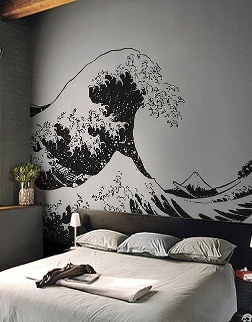 11 Beautiful Wall Murals That Will Make You Want To Break Up With Paint Bedroom Murals Vinyl Wall Decals Decal Wall Art