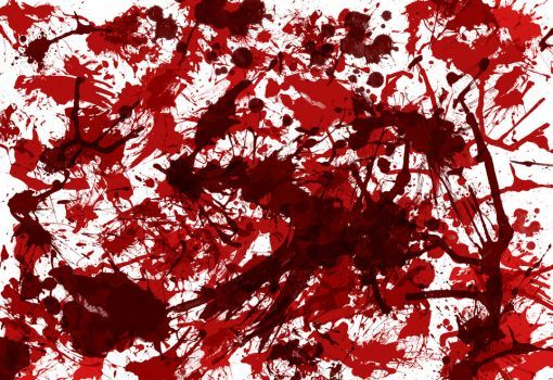 DeviantArt: More Like Blood Splatter Texture by iEniGmAGraphics