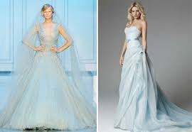 vestido de noiva azul claro - Pesquisa Google