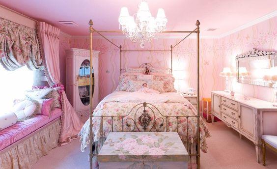 Royal pink bedroom. Royal pink bedroom   bedroom ideas   Pinterest   Pink Bedrooms