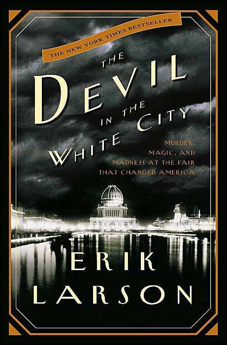 "The Devil in the White City by Erik Larson. New York Times best seller. This book masterfully combines the true stories of a serial killer and the 1893 Chicago World's Fair (so many ""firsts"" and connections to later acheivements of well know men). All spoken words are verified from written sources, but it reads like a fast-paced novel. Larson paints an incredible picture of the time period."