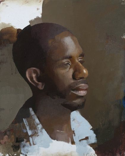 urgetocreate: Diarmuid Kelley, Study for a Portrait, 2013