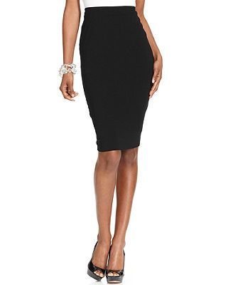 Vince Camuto Stretch-Knit Pencil Skirt