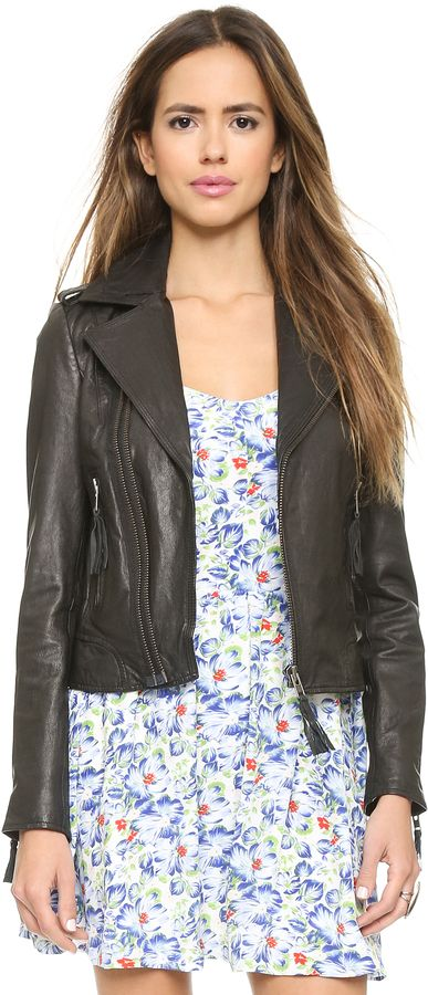 Joie Ailey Leather Jacket: