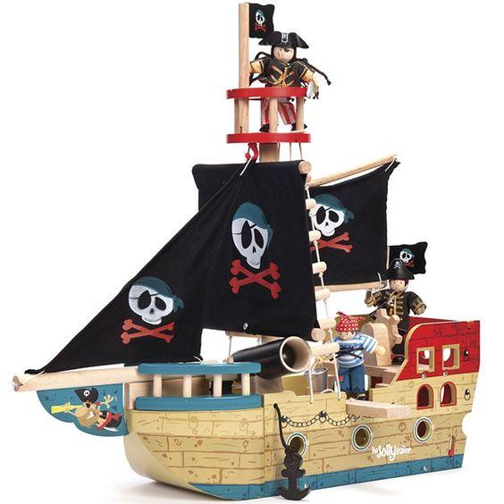 Barco pirata de madera Jolly - Le Toy Van