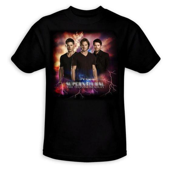 Supernatural Lighting Adult T-shirt