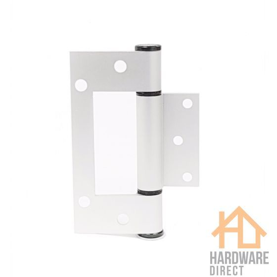 Mccallum Tapered Aluminium Fast Fix Interfold Door Hinge Clear Anodised 100mm X 34mm A169sna Tools Hardware Safety Safety Door Hinges Hinges Anodized