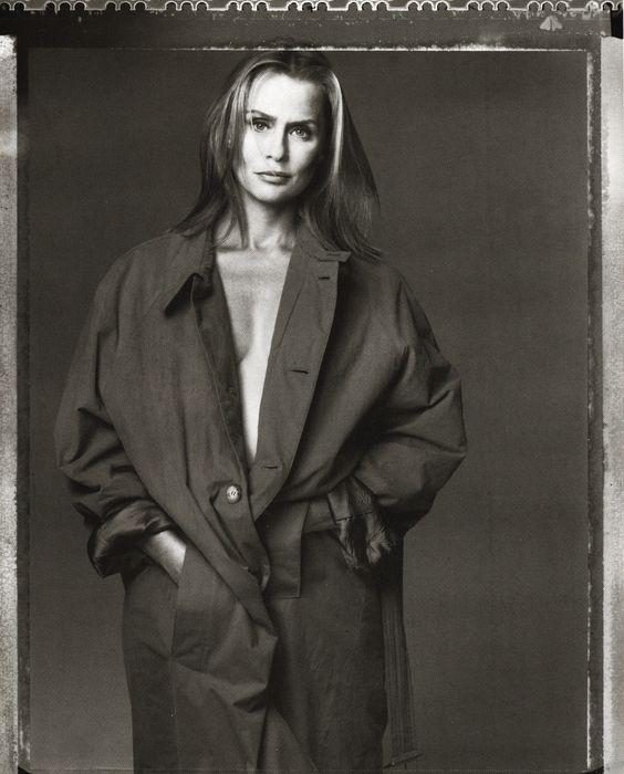Vogue Italia December 1993 Lauren Hutton by Steven Meisel and Joe McKenna