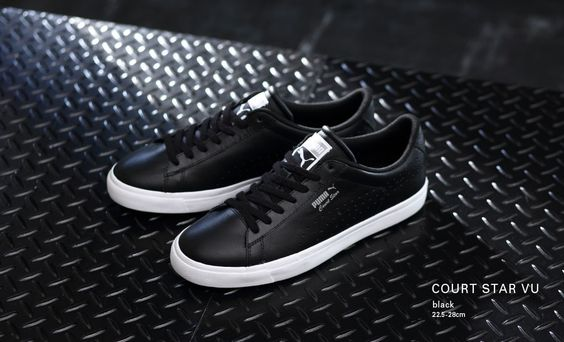 Puma Court Star: Black