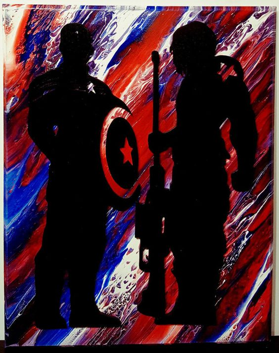 Hey, I found this really awesome Etsy listing at https://www.etsy.com/listing/478628024/captain-america-and-winter-soldier