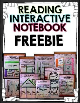This is a freebie for your Reading Interactive notebooks! Enjoy great foldables to add to your Reading curriculum!