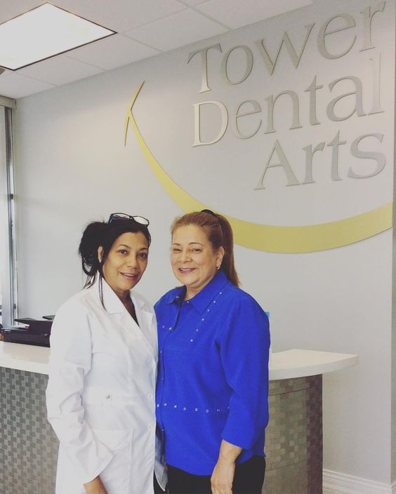 Dr. Rocha with another happy patient. We are glad to make you smile Doris  #dentistry #naplesfl #towerdentalarts #happypatient