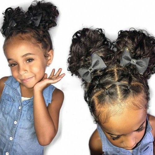 Best Images African American Girls Hairstyles Lil Girl