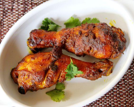 Soy Sauce, Cumin & Coriander Baked Chicken Drumsticks