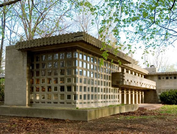 Turkel house detroit 1956 frank lloyd wright usonian for House builders in michigan
