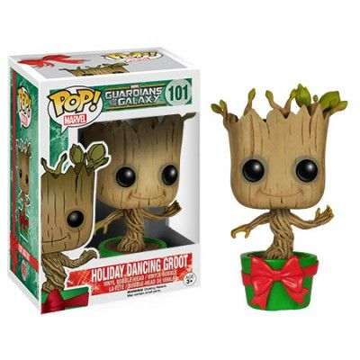 Figurine PoP! Marvel Guardians Of The Galaxy Dancing Groot Holiday