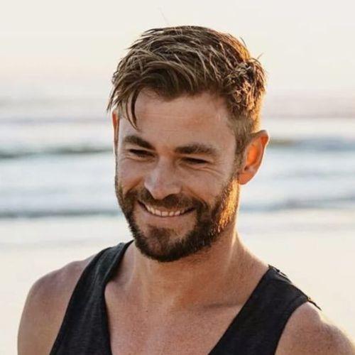 Chris Hemsworth Haircut In 2020 Chris Hemsworth Hair Men Haircut Styles Mens Hairstyles Short