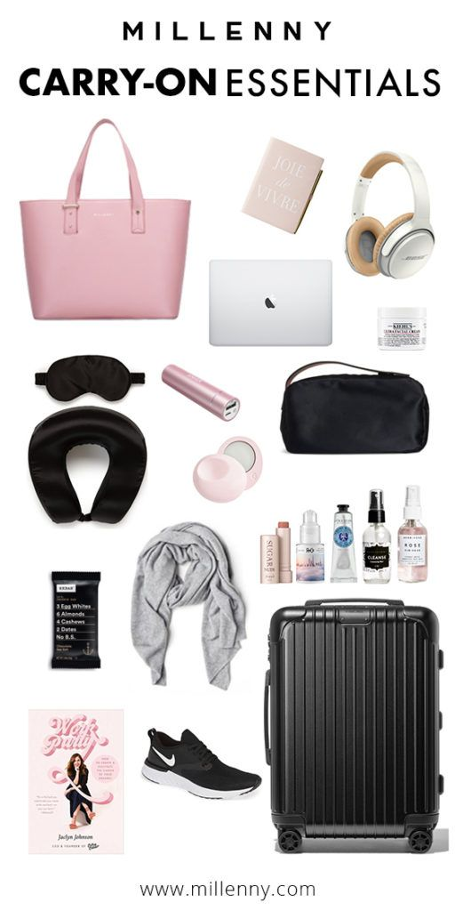 What We Pack In Our Carry Ons For Business Trip Travel