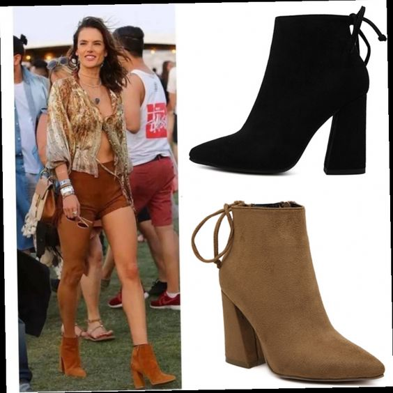 51.16$  Watch now - http://alii71.worldwells.pw/go.php?t=32718587991 - Star with a short leather high heel boots boots female Martin Vintage bare boots with coarse Bottine single boots