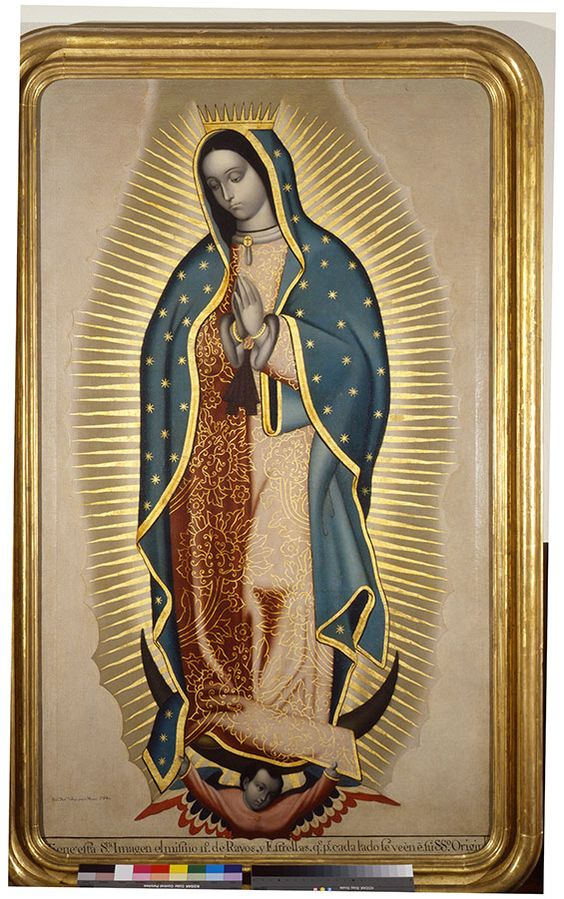 Francisco Antonio Vallejo, Virgen de Guadalupe, 1780