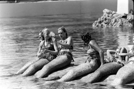 1960s disneyland mermaids