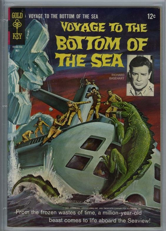 voyage to the bottom of the sea gold key comic - Google Search