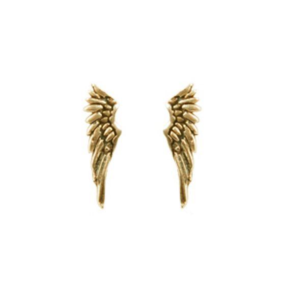 Tiny Wing Earrings