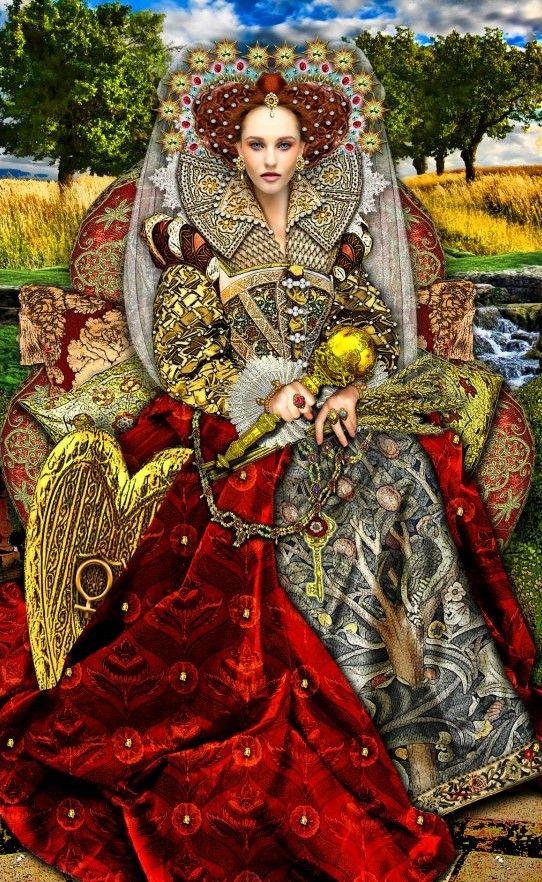 The Empress by Erik Dunne (Tarot Illuminati)