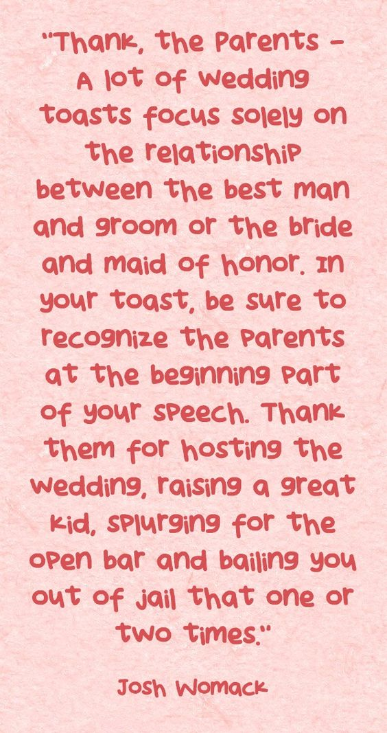 Best Friend Quotes For Wedding Speeches Daily Dose Of Wisdom Bridal Balance Maid