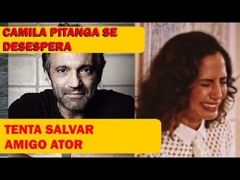 Camila Pitanga se desespera -Morte de Domingos Montagner